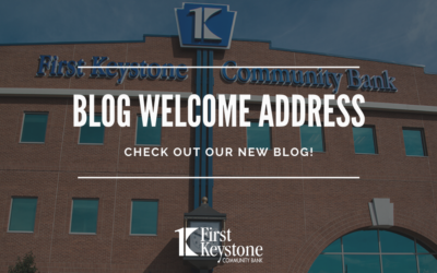 Blog Welcome Address