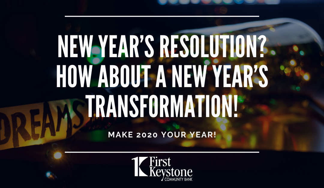 How About a New Year's Transformation!