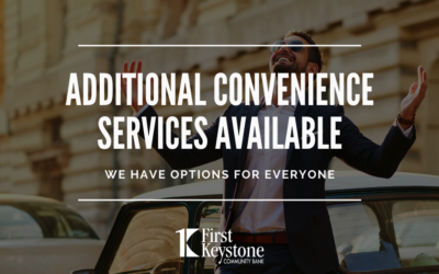 Additional Convenience Services Are Available